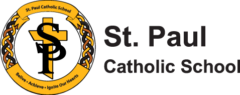 St. Paul Catholic School logo